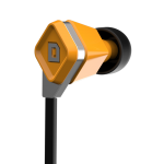 LUX Earbud Amber Orange