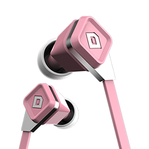 LUX Earbuds Coral Pink