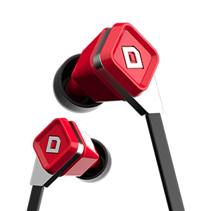 LUX Earbuds Ruby Red